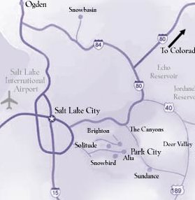 map of salt lake city