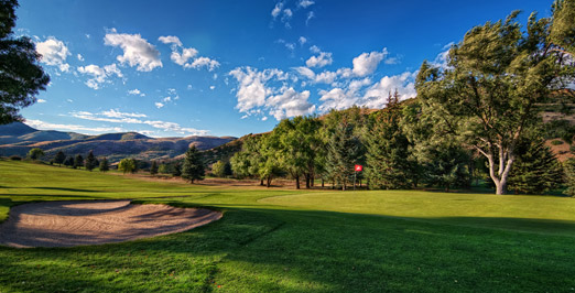 Mountain Dell Golf Course Near Salt Lake City