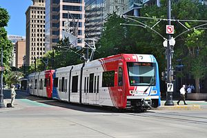 Salt Lake Citys Trax Light Rail